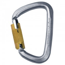 Carabiniera SINGING ROCK D Steel Triple Lock