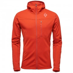 Geaca BLACK DIAMOND M CoEfficient Hoody rust