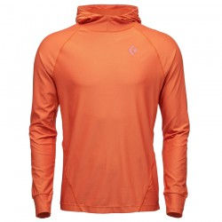 Polar BLACK DIAMOND M LS Alpenglow Hoody redwood