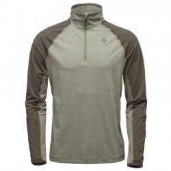 Polar BLACK DIAMOND M Approach 1/4 Zip Fleece burnt olive