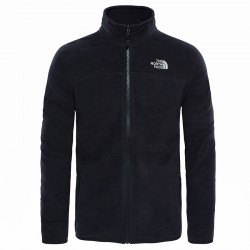 Polar THE NORTH FACE M 100 Glacier Full Zip black