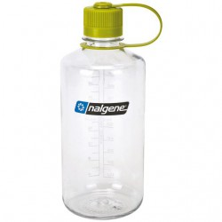 Bidon NALGENE Narrow Mouth 1.0 L clear/green