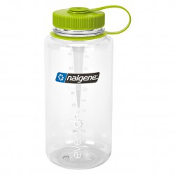 Bidon NALGENE Wide Mouth 1.0 L clear/green