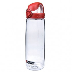 Bidon NALGENE On the Fly 0.65L clear/red