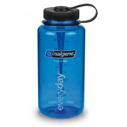 Bidon NALGENE Wide Mouth 1.0 L blue