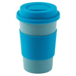 Ceașcă camping Outwell Bamboo Cup blue