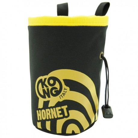 Sac pentru magneziu KONG Chalk Bag Hornet black/yellow