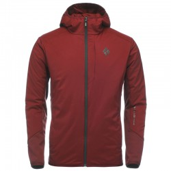 Geaca BLACK DIAMOND M First Light Hybrid Hoody red oxide